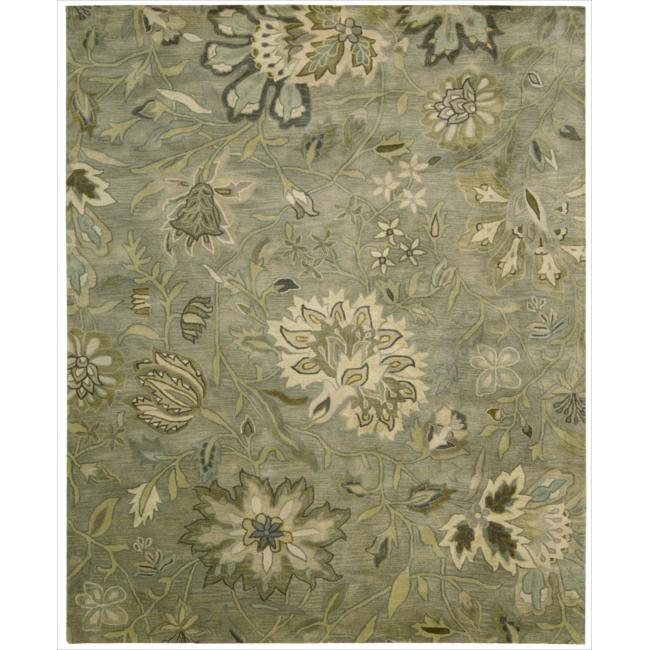 Overstock.com Hand-tufted Jaipur Silver Rug at Sears.com