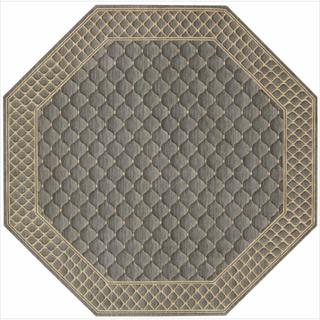 Nourison Vallencierre Platinum Wool Rug