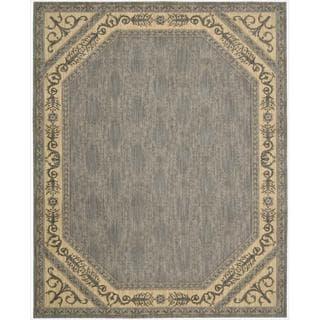 Nourison Vallencierre Silver Wool Rug