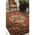 Nourison Hand Tufted Jaipur Red Rug