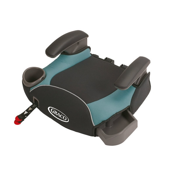 Graco AFFIX Blue No-Back Booster Seat with Latch System