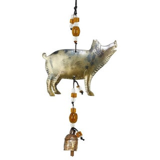 Practically Perfect Pig Wind Chime (India)
