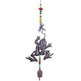 Playful Frog Wind Chime (India)
