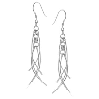 Journee Collection Sterling Silver Dangle Earrings