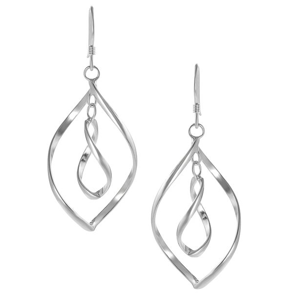 Journee Collection Sterling Silver Dangle Earrings