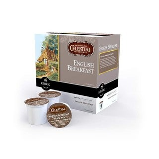 Celestial Seasonings English Breakfast Black Tea K-Cups for Keurig Brewers (Case of 96)