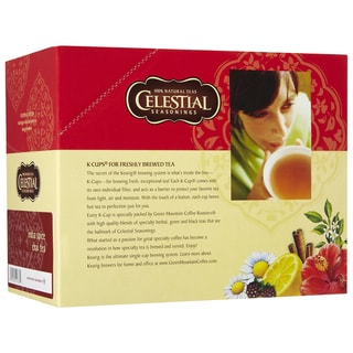 Celestial Seasonings India Spice Chai Tea K-Cups for Keurig Brewers (Case of 96)