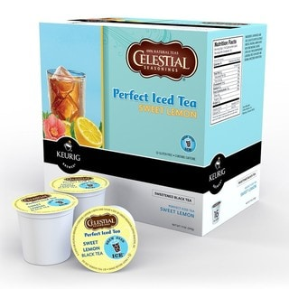 Celestial Seasonings Sweet Lemon Iced Tea K-Cups for Keurig Brewers (Case of 96)