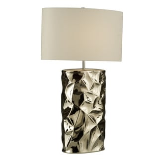 'Cera' Chrome 1-light Table Lamp