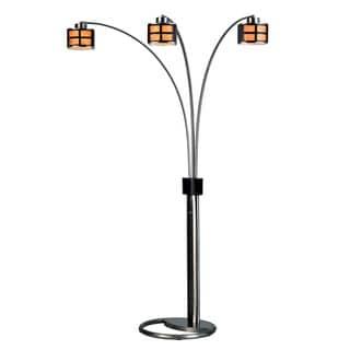 'Ventana' 3-Light Arc Lamp