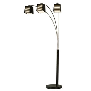 Louver 3-light Arc Lamp
