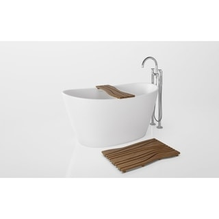 Aquatica PureScape 748M Freestanding AquaStone Bathtub