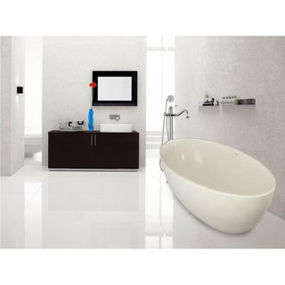Aquatica PureScape 629M Freestanding AquaStone Bathtub