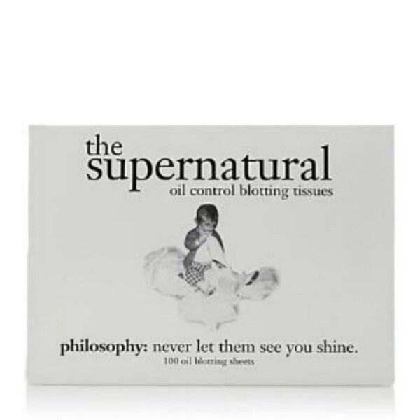Philosophy Supernatural Blotting Paper (100 Sheets)