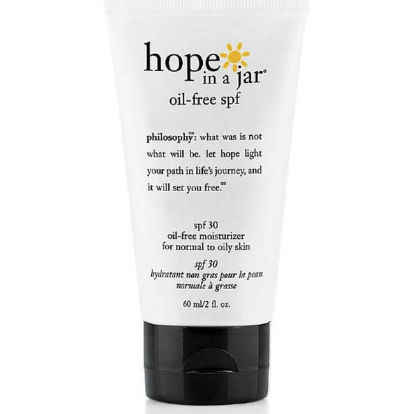 Philosophy Hope in a Jar Oil-free SPF 30 Moisturizer for Normal to Oily Skin