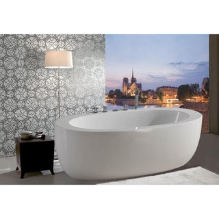 Aquatica PureScape 174 Freestanding Acrylic Bathtub