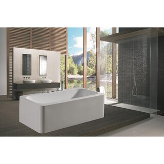 Aquatica PureScape 143 Freestanding Acrylic Bathtub