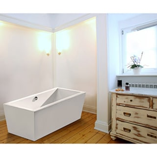 Aquatica PureScape 026A Freestanding Acrylic Bathtub