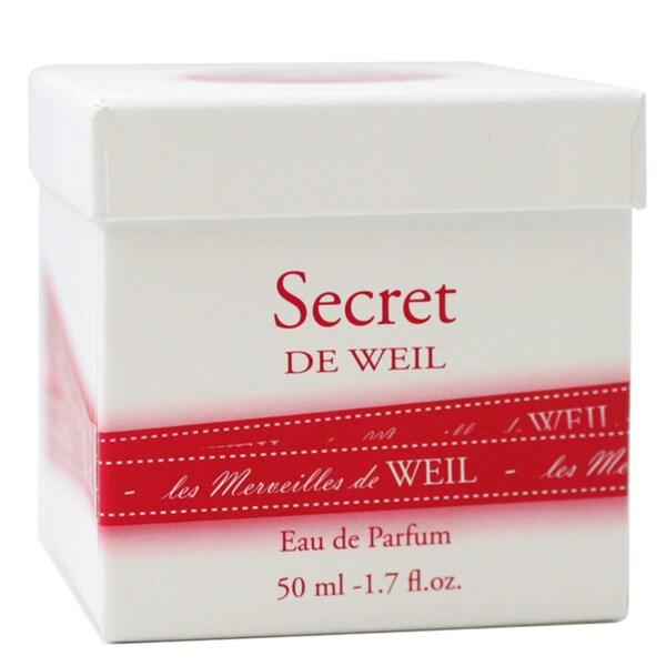 Weil 'Secret De Weil' Women's 1.7-ounce Eau de Parfume Spray