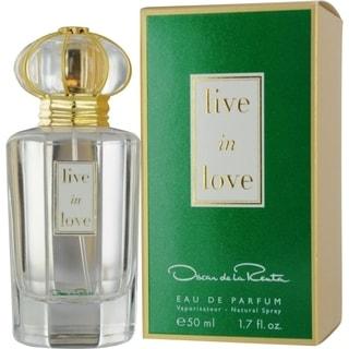 Oscar de La Renta Live In Love Women's 1.7-ounce Eau de Parfum Spray