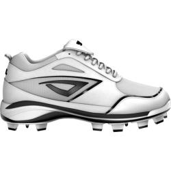 Women's 3N2 Rally TPU Fastpitch White/Black