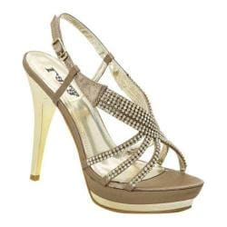 Women's Lava Shoes Alexa Taupe Satin