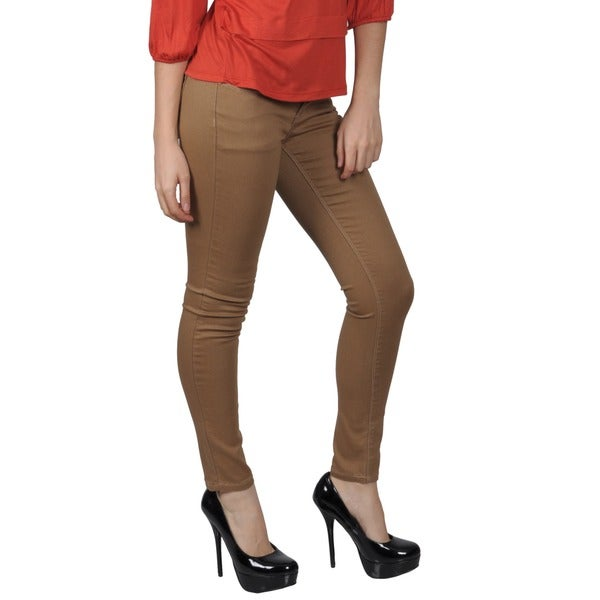Journee Collection Junior's Stretchy Skinny Pants