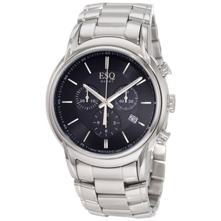 ESQ by Movado Men's Stainless Steel 'Quest' Chronograph Watch
