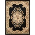 Nourison Chateau Black Wool-blend Rug (33 x 53)