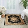 Nourison Chateau Black Wool Blend Rug (3'3 x 5'3')