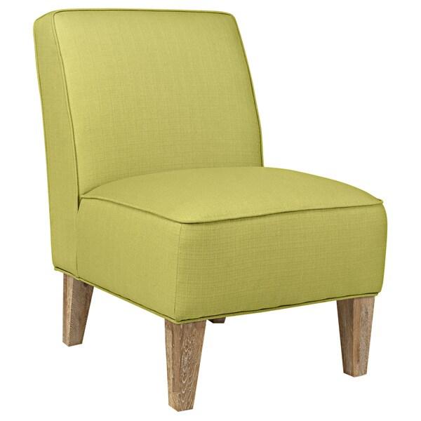 angelo:HOME Dover Kiwi Lime Green Basket Armless Chair