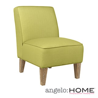 angelo:HOME Dover Kiwi Lime Green Basket Armless Chair