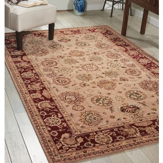 Nourison 2000 Hand-tufted Kashan Camel Rug
