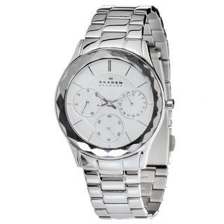 Skagen Women's Stainless-Steel Watch with Luminous Hands