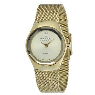 Skagen Women's Goldtone Stainless Steel Watch
