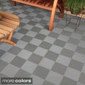 BlockTile Deck and Patio Flooring Interlocking Perforated Ti