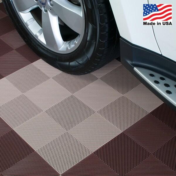 Details About Interlocking Patio Deck Flooring Blocktile Garage Tiles