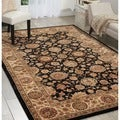 Nourison Black Hand-tufted Nourison Area Rug