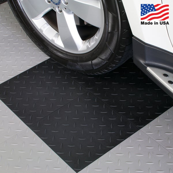 BlockTile Garage Flooring Interlocking Tiles Diamond Top (Pack of 27)