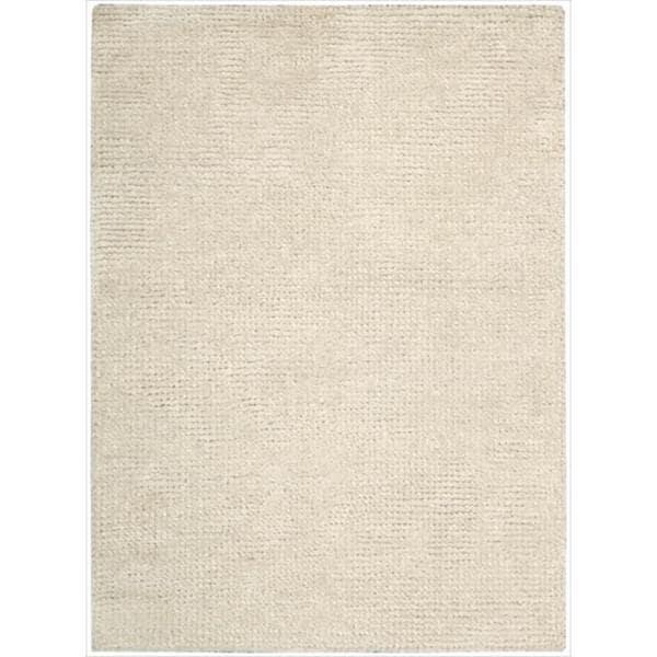 Nourison Hand-tufted Fantasia White Rug (8'x 11')