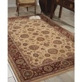 Nourison Ivory Hand-tufted Wool Rug