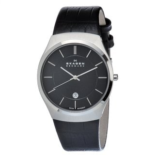 Skagen Men's Stainless Steel Date Watch