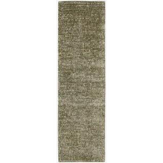 Nourison Hand-tufted Fantasia Sage Rug (2'3 x 8')
