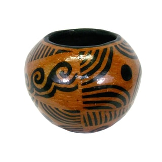 Spherical Clay Planter (Honduras)