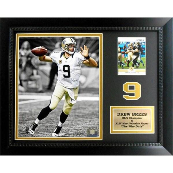Drew Brees New Orleans Saints Deluxe Stat Frame (11 x 14)
