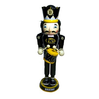 NHL Team 14-inch Drummer Nutcracker