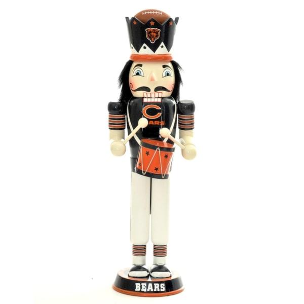 NFL Team 14-inch Drummer Nutcracker