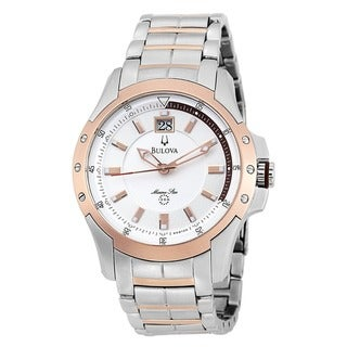 Bulova Men's 98B129 Stainless Steel Marine Star Watch