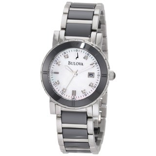 Bulova Women's 98P122 Stainless Steel 'Highbridge' Watch