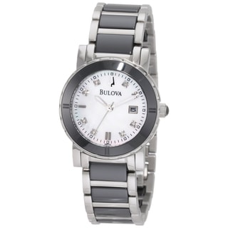 Bulova Women's Stainless Steel 'Highbridge' Watch